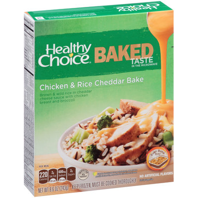 Healthy Choice® Baked Chicken & Rice Cheddar Bake 8.6 oz. Box