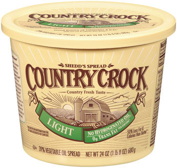 Shedd's Spread Country Crock® Light 39% Vegetable Oil Spread 24 oz.