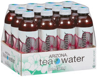Poland Spring Pomegranate Organic Green Tea Arizona Tea Water 12-20 fl. oz. Plastic Bottles