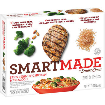 SmartMade™ by Smart Ones® Spicy Peanut Chicken & Broccoli