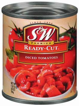 S&W® Ready-Cut Diced Tomatoes 28 oz. Can