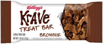 Krave® Brownie Treat Bar 1.58 oz. Wrapper