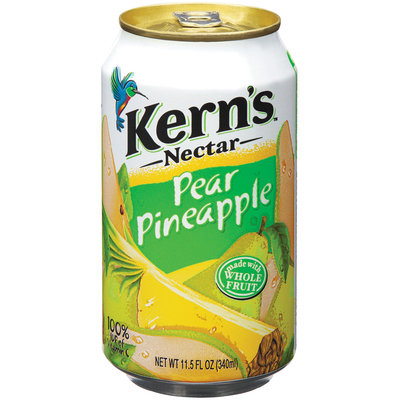 Kern's Mexico Pear Pineapple Nectar 11.5 Oz Can