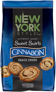 New York Style® Sweet Swirls Cinnabon® Baked Snack Crisps 6 oz. Bag