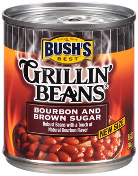 Bush's Best® Grillin' Beans® Bourbon and Brown Sugar 8.6 oz. Can