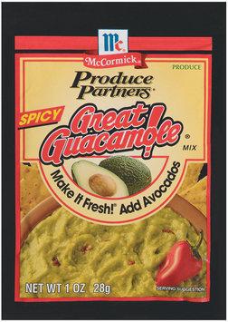 Produce Partners Great Spicy Guacamole Mix 1 Oz Peg