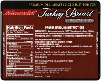 Schnucks® Mesquite Smoked Turkey Breast Package