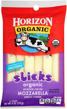 Horizon Organic® Mozzarella String Cheese Sticks 6 oz. Package