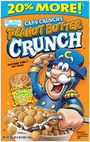 CAP'N CRUNCH Peanut Butter Crunch Cereal