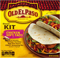 Old El Paso® Chicken Soft Taco Dinner Kit