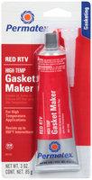Permatex® Red RTV High Temp Gasket Maker 3 oz. Tube