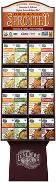 Lundberg Family Farms® Organic Spouted Whole Grain Entrees Display