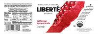 Liberté® Californian Pomegranate Organic Whole Milk Yogurt