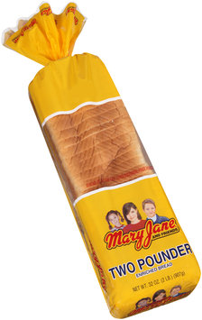 Mary Jane and Friends® Two Pounder Bread 32 oz. Bag