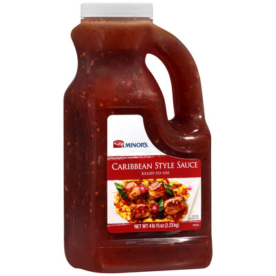 Minor's® Caribbean Style Sauce 4.9 lb. Jug