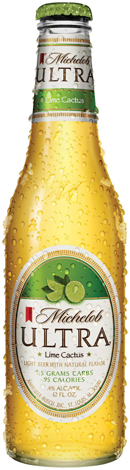 Michelob Ultra Flavors Lime Cactus Beer