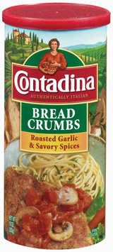 Contadina Roasted Garlic & Savory Spices Bread Crumbs 10 oz. Canister