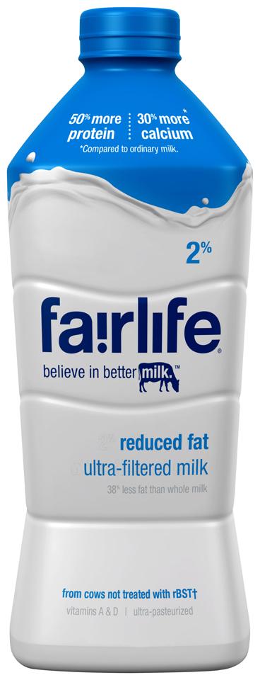 fairlife® 2% Reduced Fat Milk 52 fl. oz. Bottle