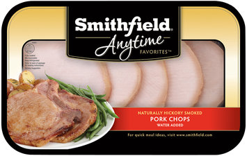 Smithfield® Anytime Favorites™ Naturally Hickory Smoked Pork Chops Pack