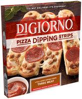 DIGIORNO Three Meat Small Pizza Dipping Strips 10.1 oz. Box
