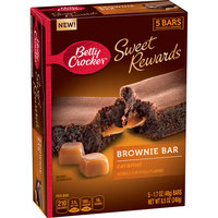 Betty Crocker® Sweet Rewards Caramel Brownie Bars 5 ct Box