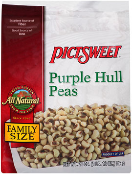 ALL NATURAL Purple Hull Peas 28 OZ STAND UP BAG
