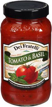 Dei Fratelli® Tomato & Basil Pasta Sauce 24 oz. Jar