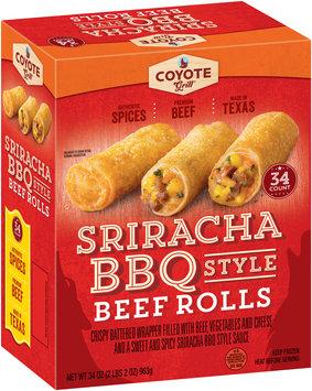 Coyote Grill® Sriracha BBQ Style Beef Rolls
