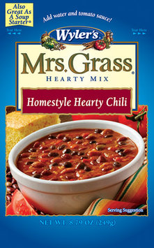 WYLER'S Homestyle Hearty Chili Mrs. Grass Hearty Soup Mix 8.79 OZ POUCH