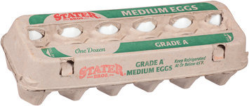 Stater Bros.® Grade A Medium Eggs 12 ct Carton