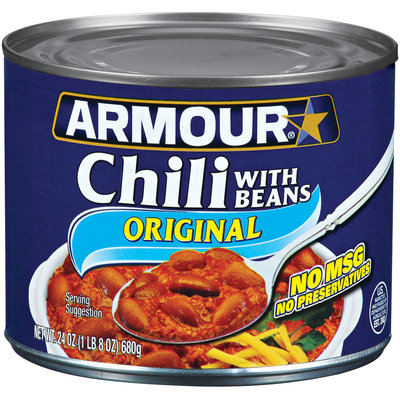 Armour Original W/Beans Chili 24 Oz Can