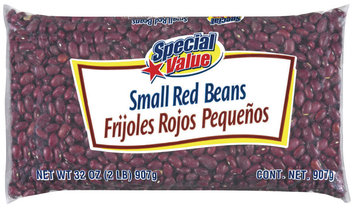 Special Value Small Red Beans 32 Oz Bag