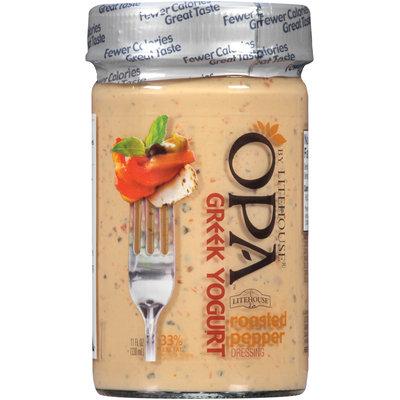 OPA by Litehouse® Greek Yogurt Roasted Pepper Dressing 11 fl. oz. Jar