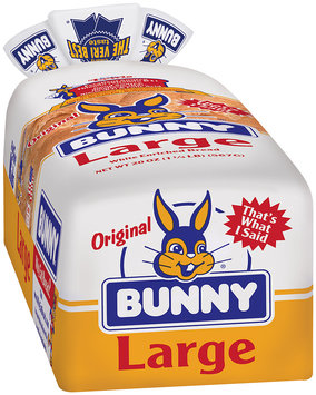 Bunny® Original Large White Bread 20 oz. Bag