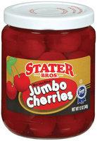 Stater Bros. Maraschino Cherries Jumbo 12 Oz Jar