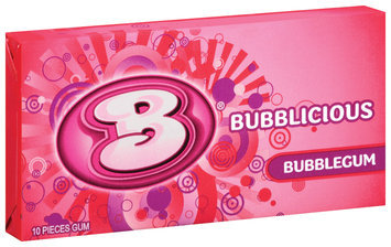 Bubblicious 10 Piece Packs Bubblegum Bubble Gum 10 Ct