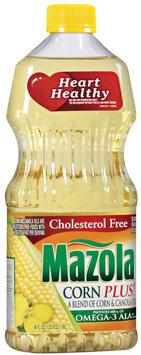 Mazola Heart Healthy Corn Plus Oil 40 Oz Plastic Bottle