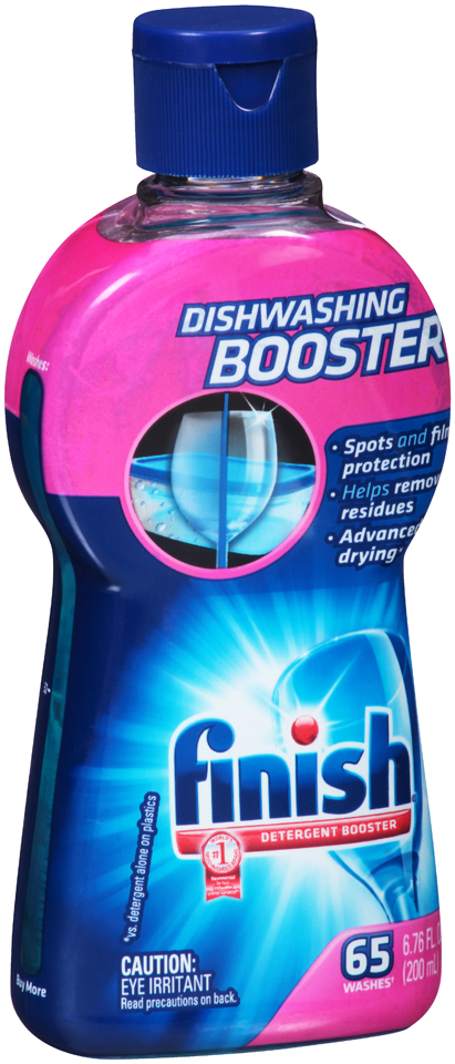 Finish® Dishwashing Detergent Booster 6.76 fl. oz. Bottle
