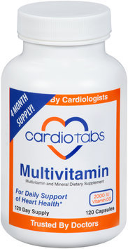 CardioTabs® Multivitamin and Mineral Dietary Supplement Capsules