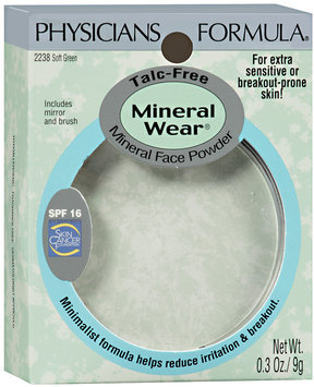 Physicians Formula® Mineral Wear® Soft Green Mineral Face Powder SPF 16 0.3 oz