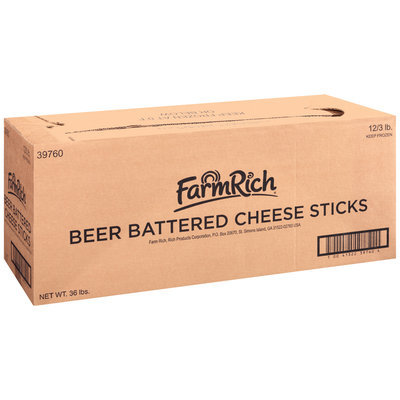 Farm Rich® Beer Battered Cheese Sticks 12 ct Box