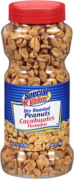 Special Value® Dry Roasted Peanuts 16 oz. Plastic Jar