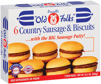 Purnell's Old Folks Twin Packs Country Sausage & Biscuits