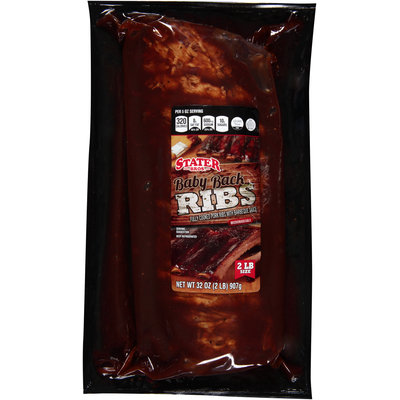 Stater Bros.® Baby Back Ribs