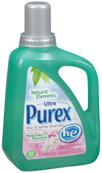 Purex Liquid Detergents Ultra Concentrate Natural Elements Liquid Laundry Detergent  50 Fl Oz Jug