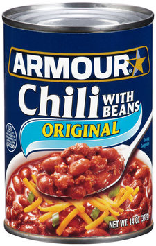 Armour® Original Chili with Beans 14 oz. Can