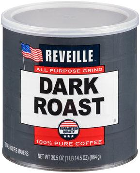 Reveille™ Dark Roast Ground Coffee 30.5 oz. can