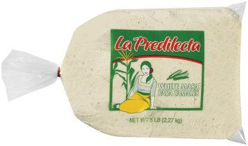 La Predilecta White Masa Para Tamales 5 lb Bag
