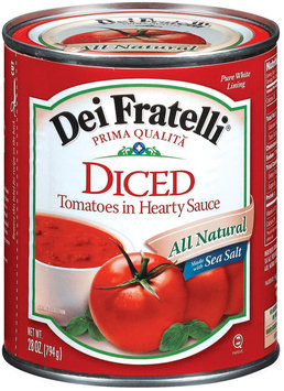 Dei Fratelli Diced Tomatoes in Hearty Sauce, 28 oz