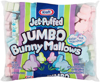 Kraft Jet-Puffed Jumbo BunnyMallows Marshmallows 24 oz. Bag